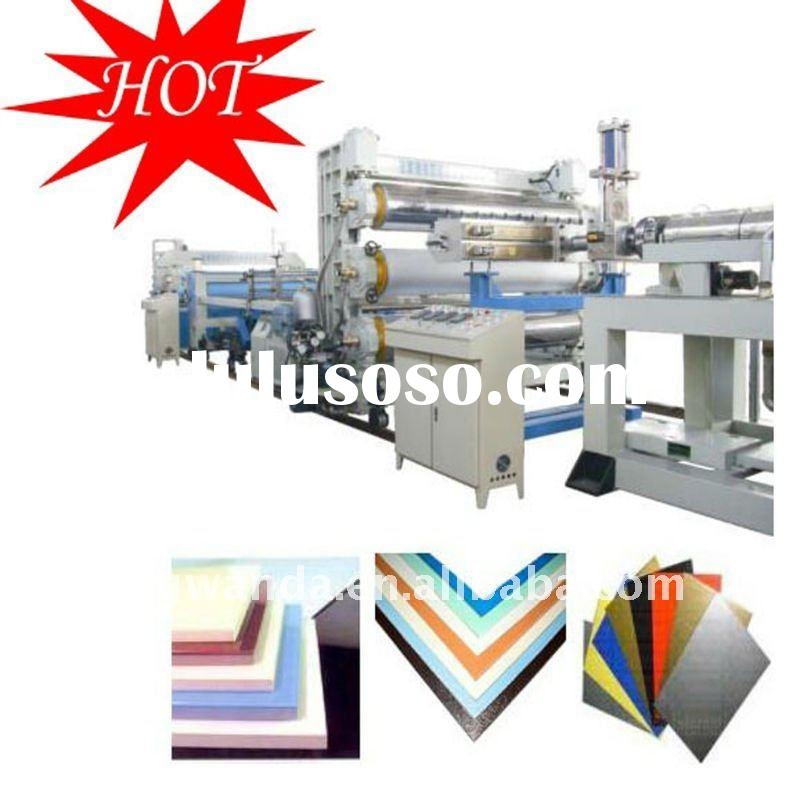ABS sheet extrusion production line