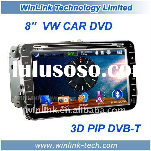 "Digital screen 8"" VW Car dvd Player with GPS Navigation"