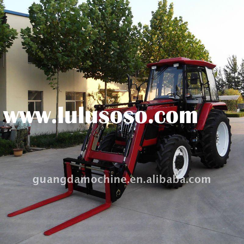 Good Performance 90HP 2WD 4WD Farming Tractor for Sale with Forklift