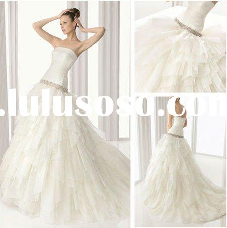WD3206 Organza Ball Gown 2012 Wedding Dresses China
