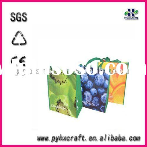 808 newest laminated pp non woven shopping bag