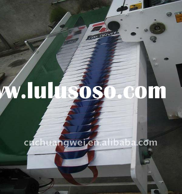 Automatic plastic handle bag making machine(CW-800ZD)