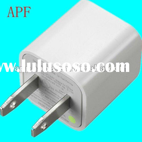 Green point charger for EU or US Output 5V1A (charegr for iphone/ipad/other mobile phone)