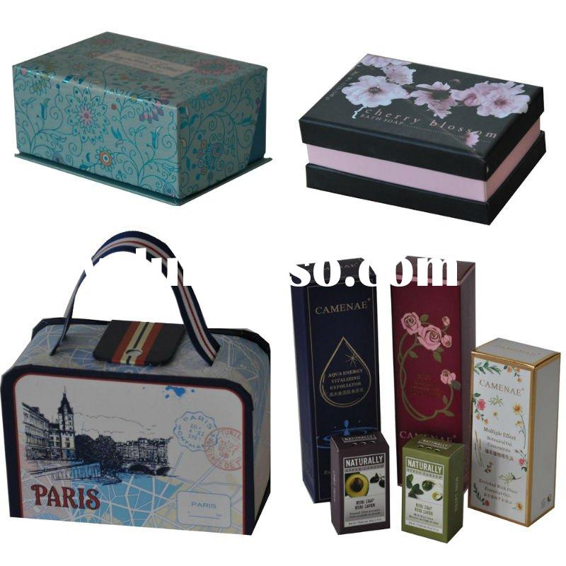 customed paper packaging box for gift packing