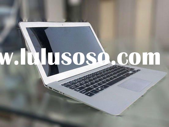 13.3 inch Air laptop, lightest and thinnest, Intel dual core CPU, 4GB RAM, 128GB SSD, high quality a