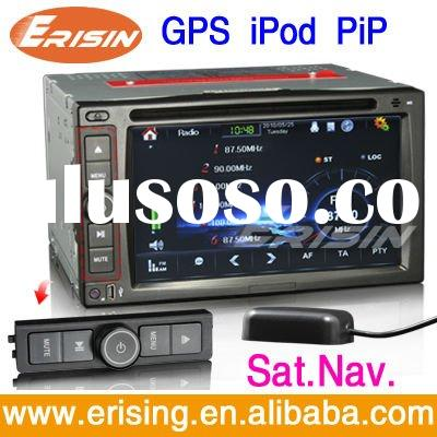Erisin 2Din Car Radios DVD TV 3D GPS Sat Nav PiP IPod