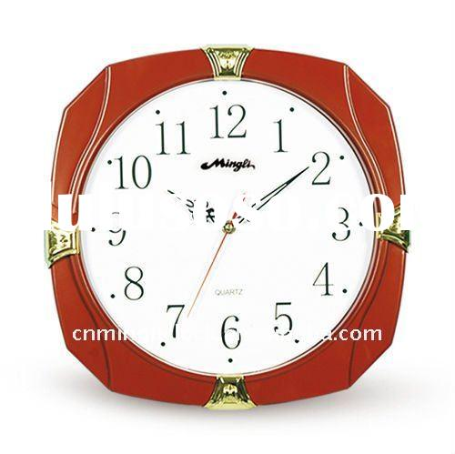 Plastic Wall Clock Modern Design 6049P