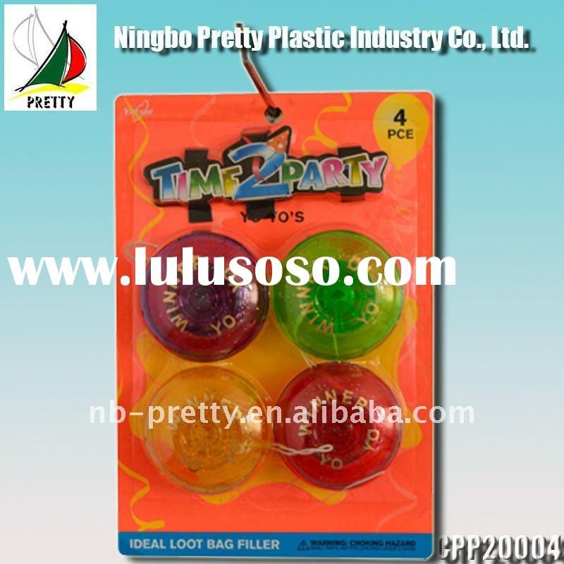 Plastic yoyo toys for kids
