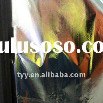 190T polyester taffeta shiny sliver coated fabric ISO9001