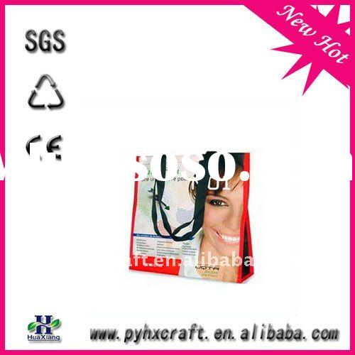 808B newest pp non woven shopping bag