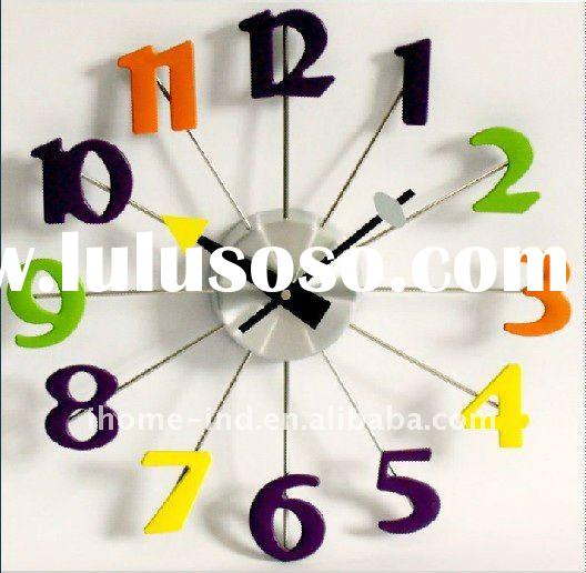 wall clock modern design