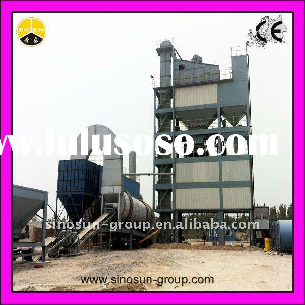 HLB-2500 asphalt mixing plant with oil burner