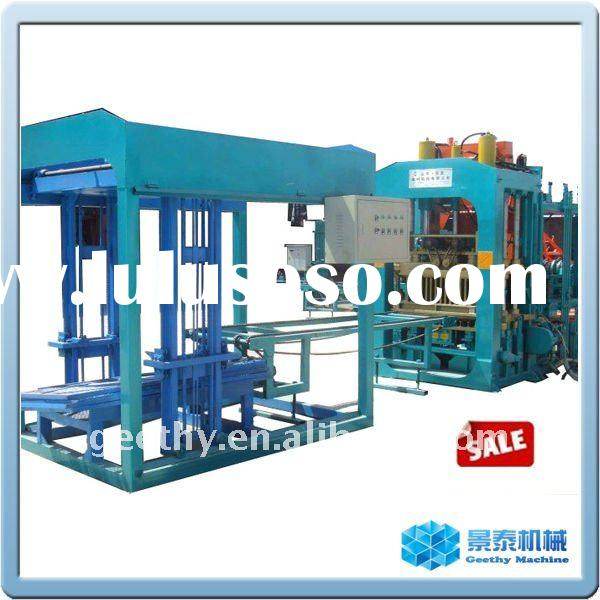 QT9-15 fly ash concrete brick making machine