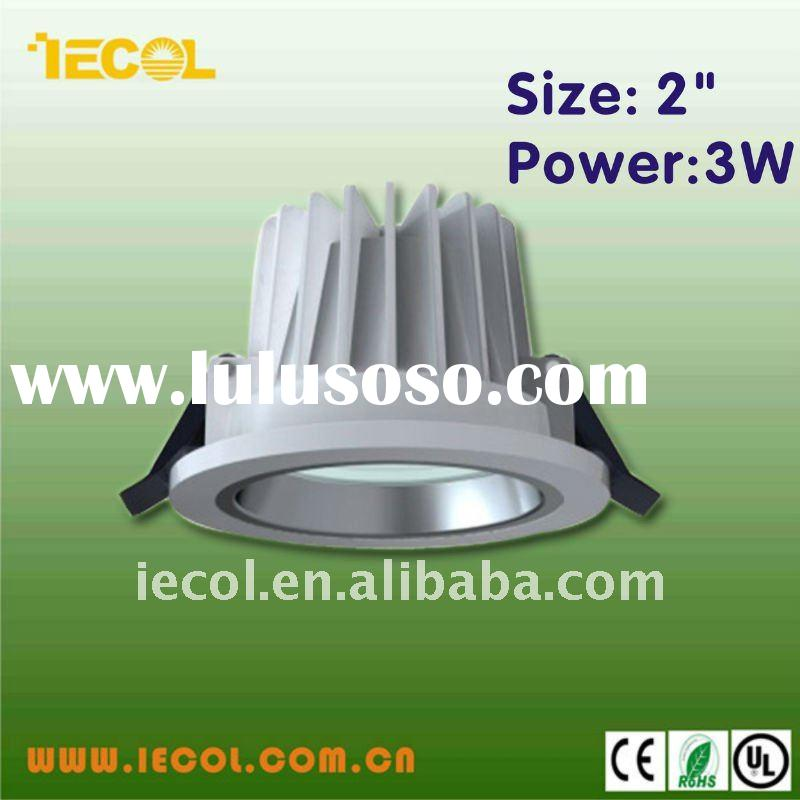 2 inch 3W led down light with CE ROHS