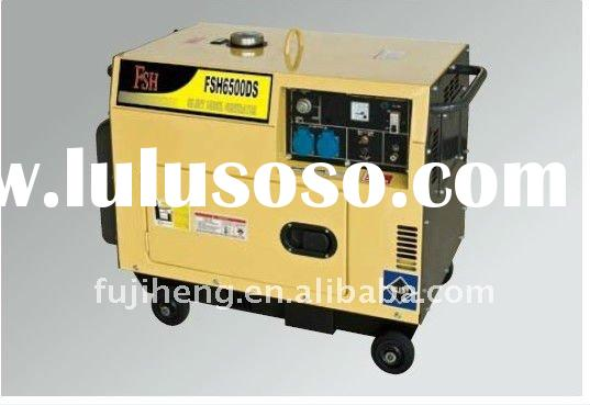 5.0 kva robin copy brush self-exciting 2-pole, single phase DC mannual diesel generator