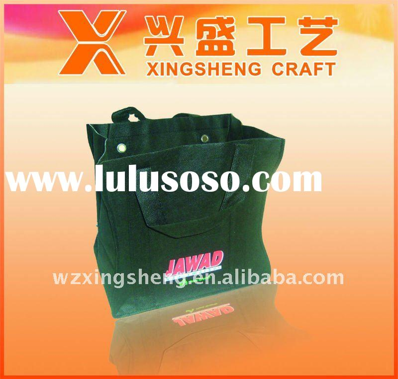 Promotion non woven length handle fashion bags