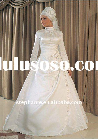 Stephanie muslim wedding gown