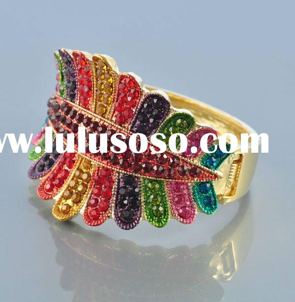 Fashion colorful crystal bangles(E7159-2)