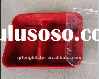 Food tray ,plastic food tray,food box ,lunch box ,plastic lunch box,plastic food packaging box,cake