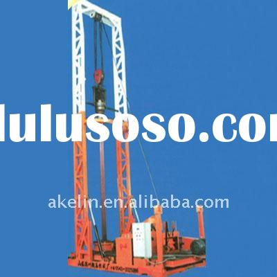 High drilling efficiency! High power!truck mounted water well drilling rig AKL-2000