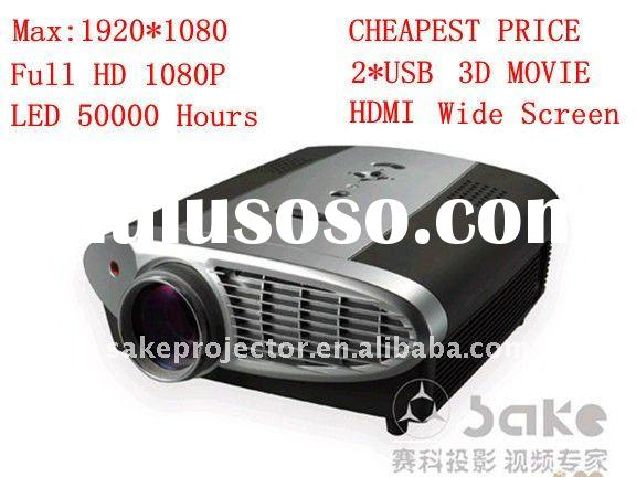 Projector, LED LCD Projector, Home Theater Projector, Video Projector, Multimedia Projector(S800)