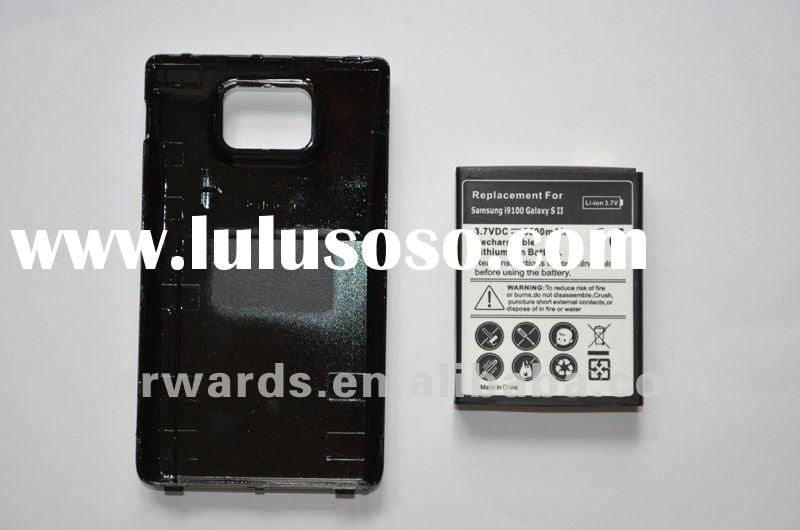 for Samsung i9100 Galaxy S2 3500mah battery+back cover