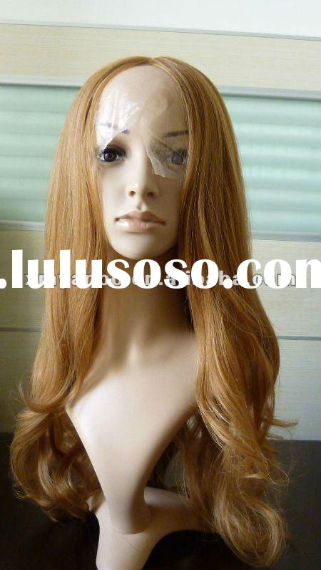 100% human hair fashion full lace wig
