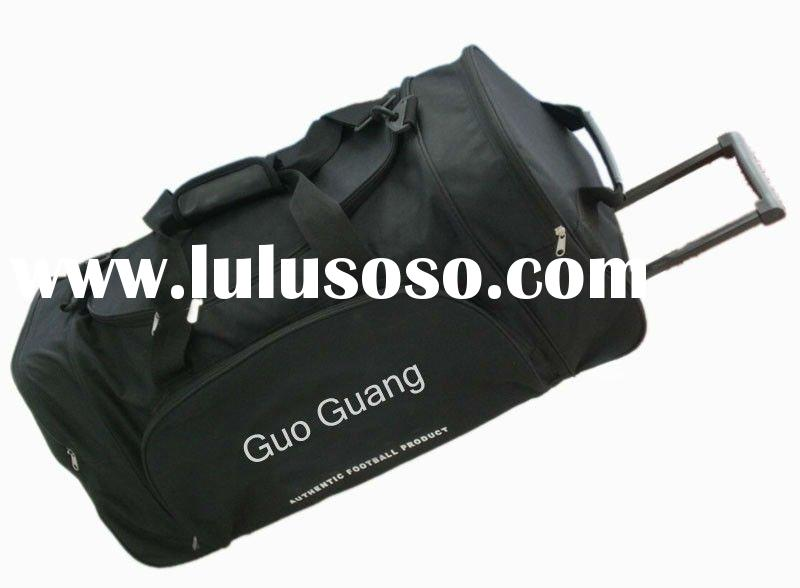 600D travel bag on wheels