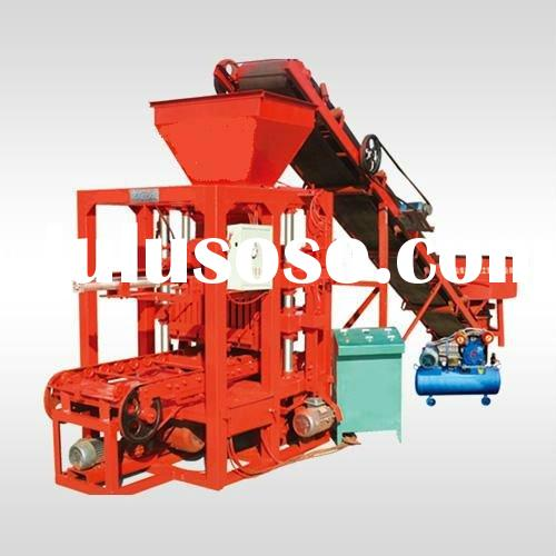 QTJ4-26 multifunctional hollow brick block making machine