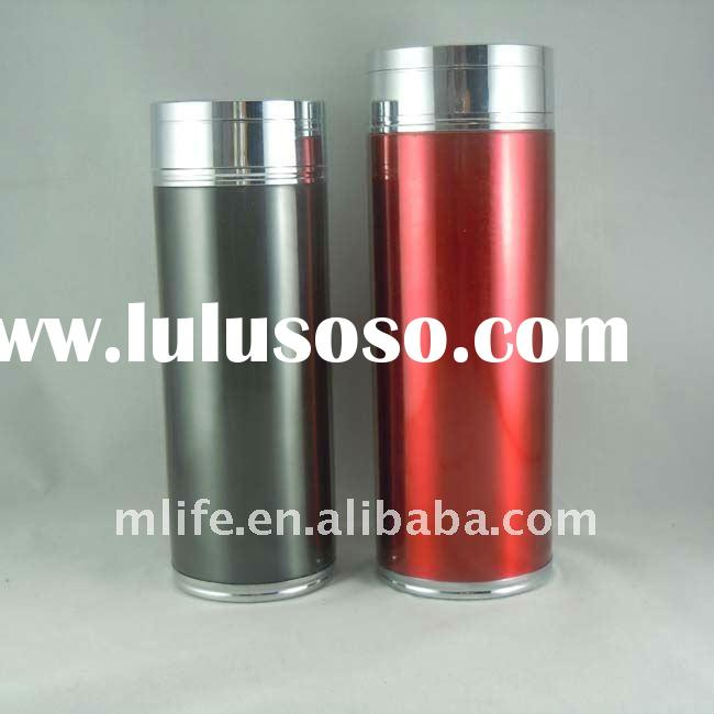 Recycled 380ml/450ml double wall insulated stainless steel vacuum flask toxin free lead free chrome