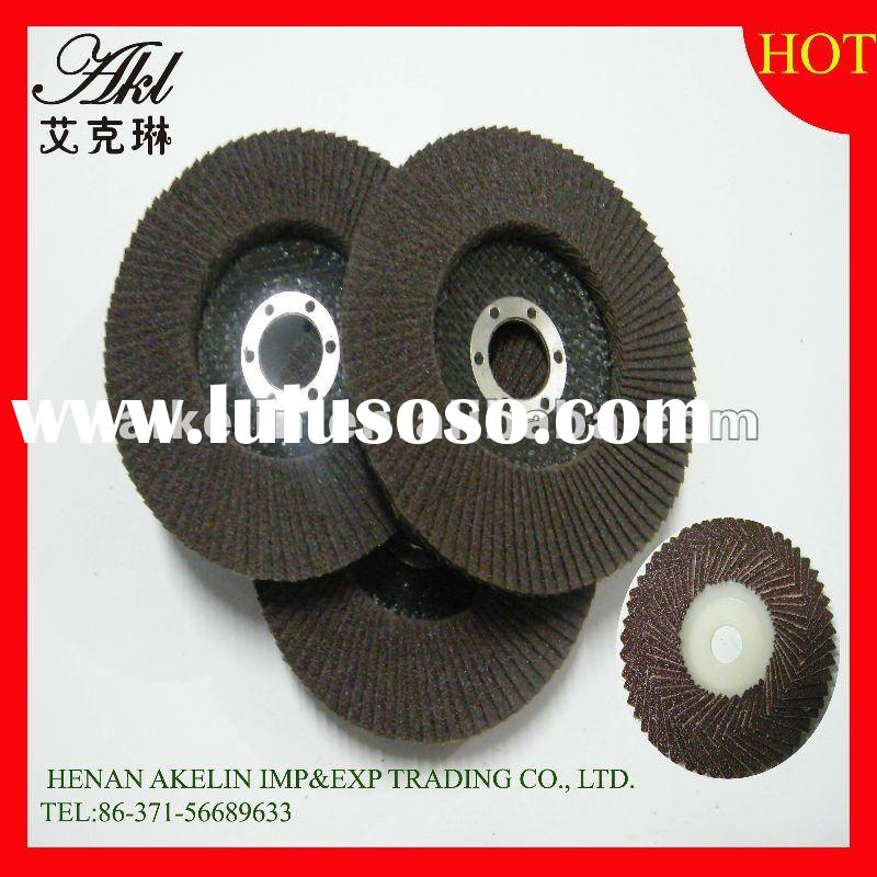 240# 100*16mm Fine abrasive fiberglas flap disc/wheel for grinding and polishing metal/stainless ste