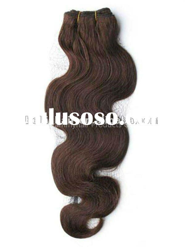High Quality remy human hair weaving/weft body weave