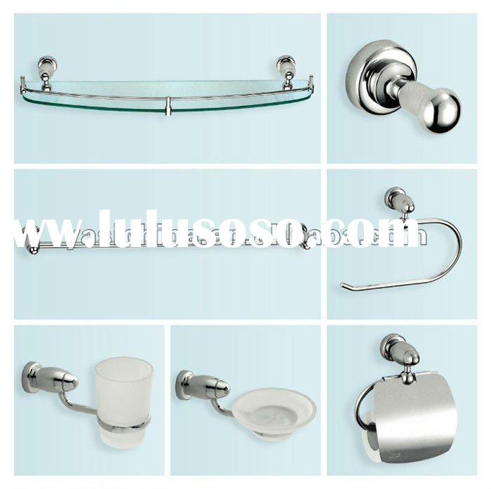 YS-87200 fashionable and decorative zinc alloy bathroom and sanitary ware accessories set