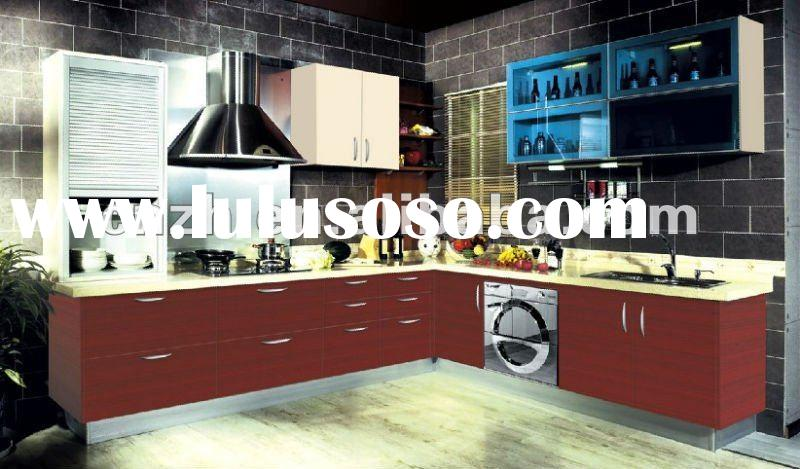kitchen furniture (high glossy kitchen cabinet)