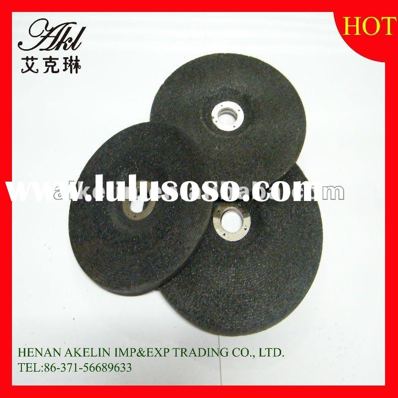 Fine brown diamond abrasive resin depressed center grinding wheel for cutting and grinding/polishing
