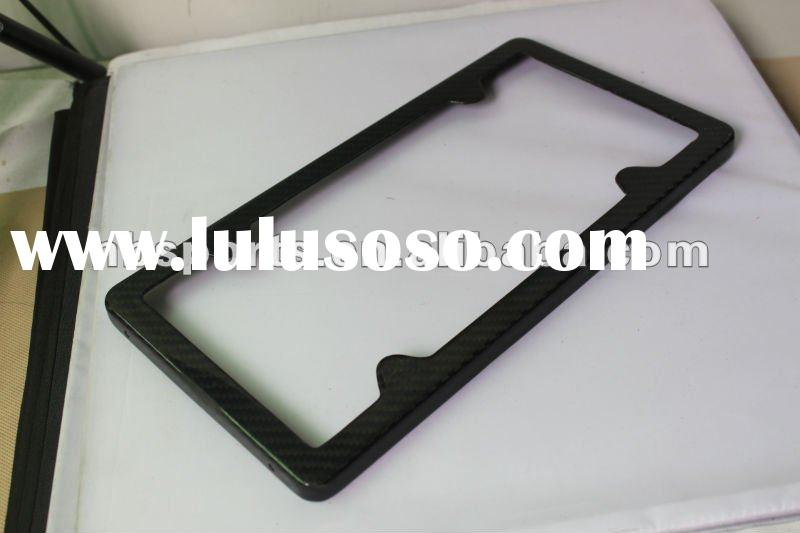 carbon fiber car license plate frame carbon fiber license plate frame