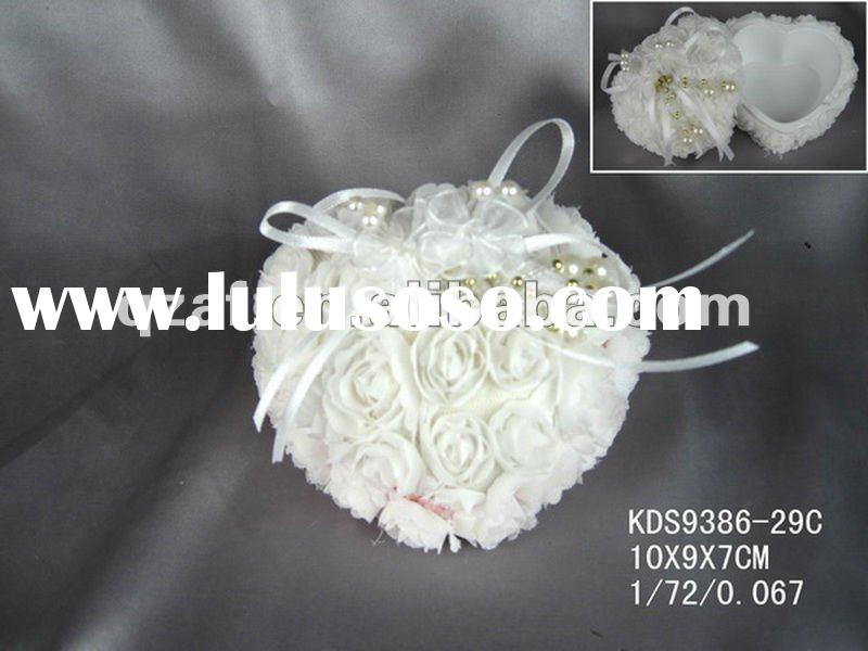 polyresin with fabric jewelry box hardware