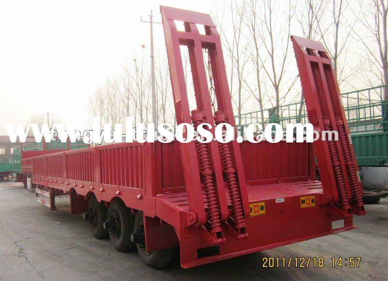 Multifunctional low bed semi trailer /side wall semi trailer for sale