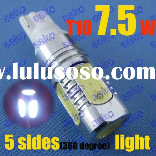 7.5W High Power T10 194 W5W 168 Auto led bulb