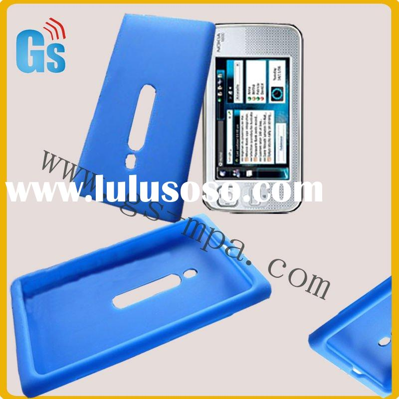 Lastest silicone case for nokia mobile phone n800
