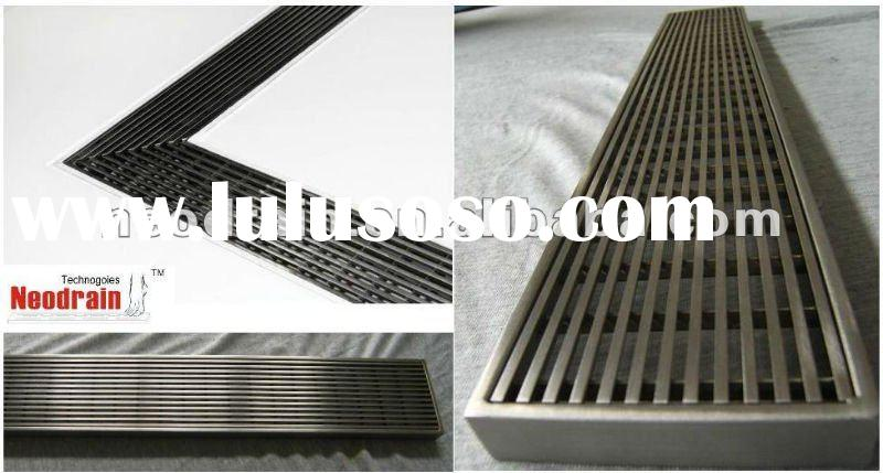Rs series wedge wire shower drain