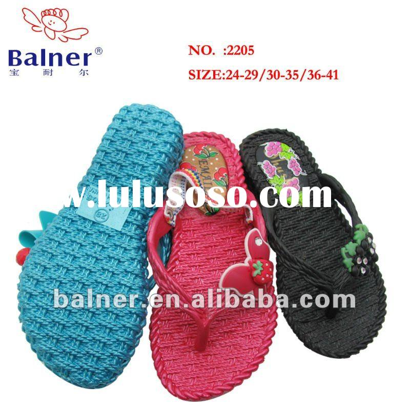 air blowing pvc slippers