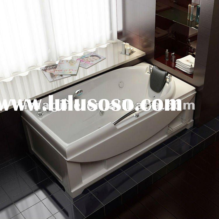 IMG-J10 Whirlpool and massage acrylic bathtub
