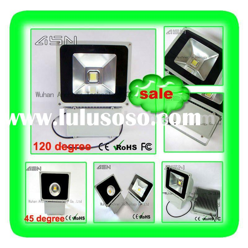 IP67 CE RoHS, 45 and 120 degree 100W LED Flood Light