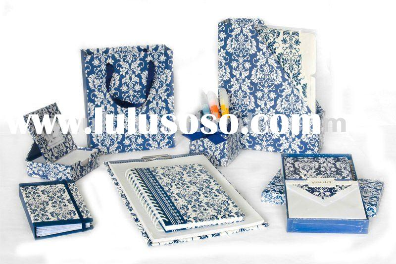 Office Stationery With Notebook,File Holder,Pen Holder