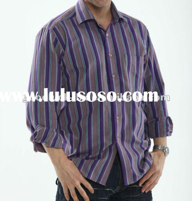 100% Cotton Yarn Dyed Men Shirt