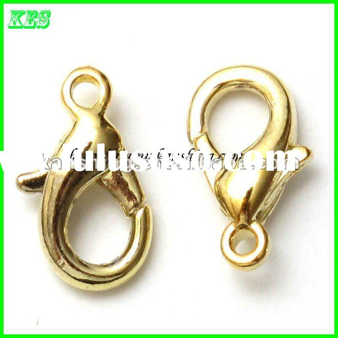 2012 fashion jewelry accessory 12mm lobster clasp
