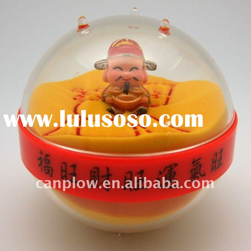 Acrylic Chinese New Year gift, Sand paperweight