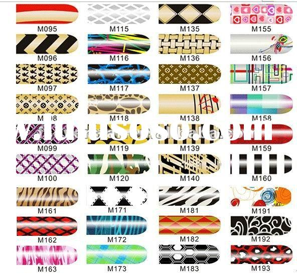 Artificial Finger nails sticker, nail strip
