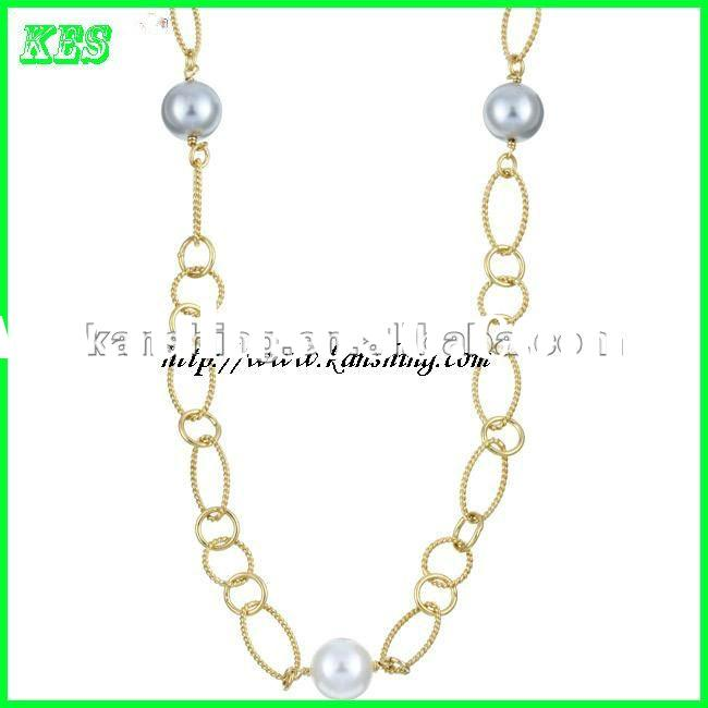 Handmade Imitation Pearl Necklace jewelry set